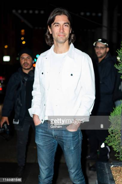 Tom Palmer attends Gigi Hadid's 24th Birthday at L'Avenue in Midtown on April 22 2019 in New York City