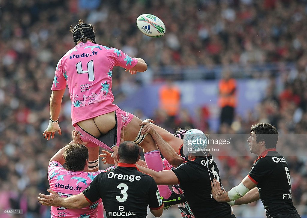 Toulouse v Stade France - Heineken Cup Quarter Final