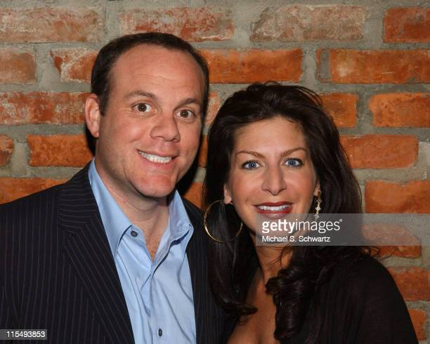 Tom Papa and Tammy Pescatelli during Tom Papa and Tammy Pescatelli Perform at the Ice House February 24 2006 at The Ice House in Pasadena California...