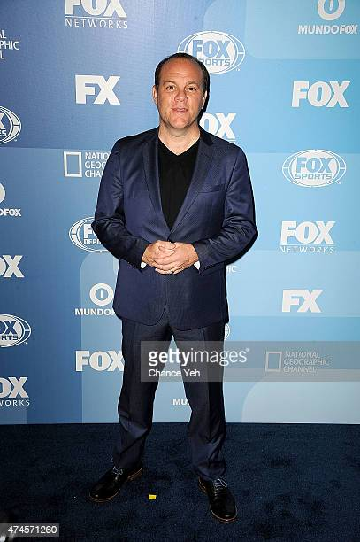 Tom Papa attends 2015 FOX Programming Presentation at Wollman Rink Central Park on May 11 2015 in New York City
