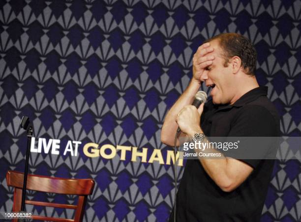 Tom Papa during Gotham Comedy Club 10th Anniversay Celebration at Gotham Comedy Club in New York New York United States