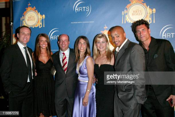 Tom Papa Heidi Mueller Jeff Zucker with guest Alison Sweeney Donald Faison and James Hyde