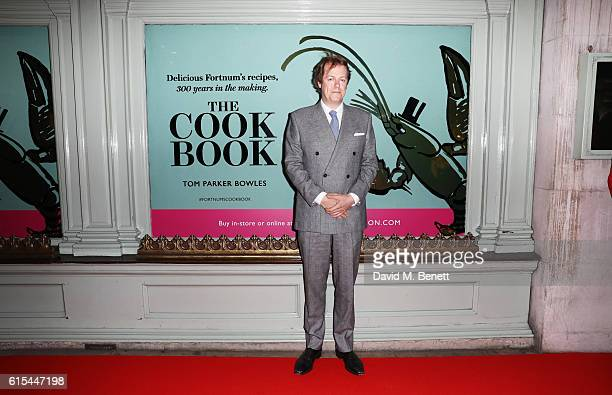 "Tom Parker Bowles attends the launch of ""Fortnum & Mason: The Cook Book"" by Tom Parker Bowles at Fortnum & Mason on October 18, 2016 in London,..."