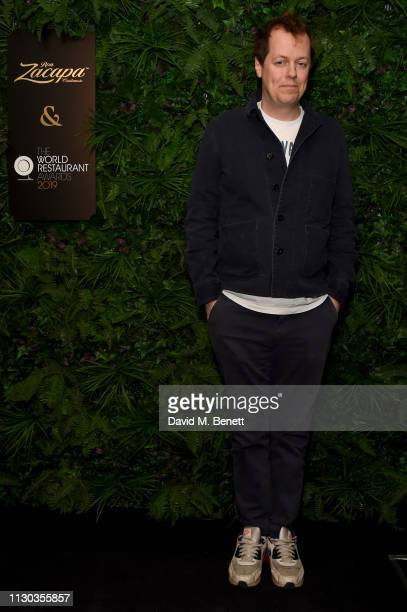 Tom Parker Bowles attends the official Ron Zacapa rum opening event of The World Restaurant Awards 2019 at Malro on February 17th, 2019 in Paris,...