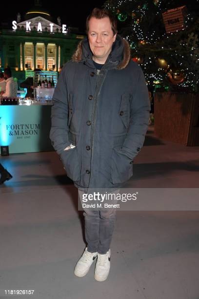 Tom Parker Bowles attends the opening party of Skate at Somerset House on November 12, 2019 in London, England. Celebrating its 20th anniversary,...