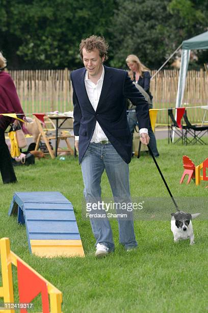 Tom Parker Bowles, during Macmillan Dog Day - July 5, 2005 at Royal Hospital Chelsea in London, Great Britain.