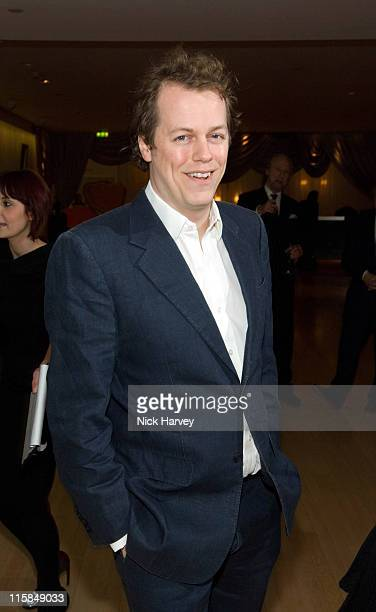 Tom Parker Bowles during Suka Restaurant at Sanderson Hotel Reopening Party at Suka in London, Great Britain.