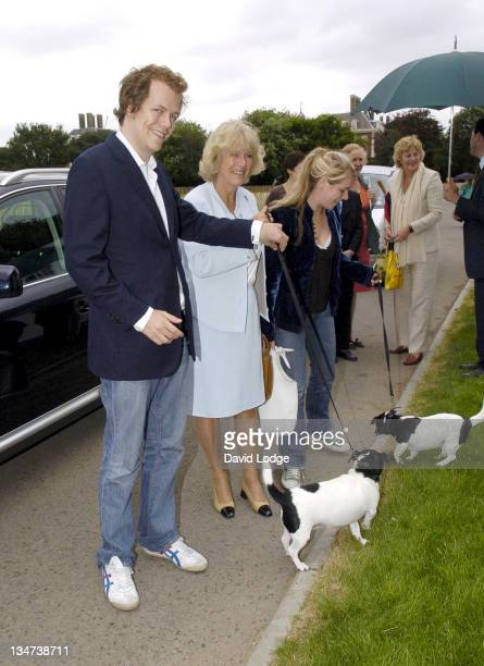 Tom Parker Bowles HRH The Duchess of Cornwall and Laura Parker Bowles