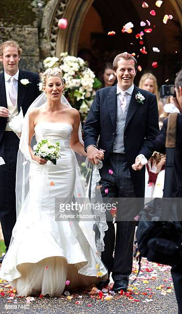 Tom ParkerBowles and his new wife Sara Buys