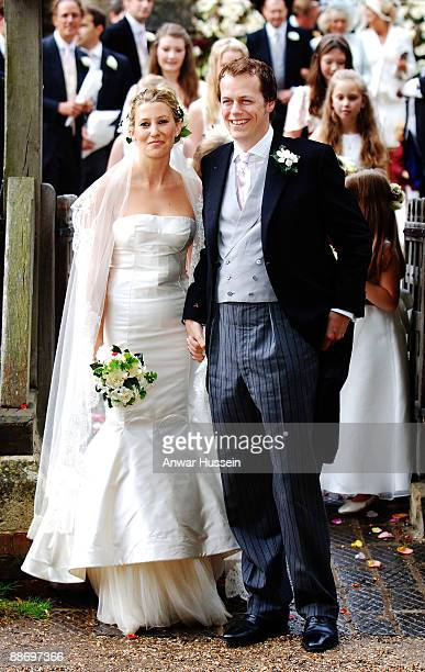 Tom ParkerBowles and his new wife Sara