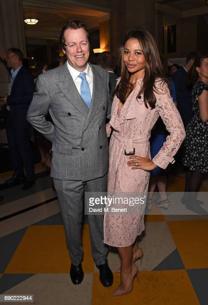 Tom Parker-Bowles and Lady Weymouth attend the launch of the London Evening Standard's inaugural Food Month hosted by Grace Dent and Tom Parker...