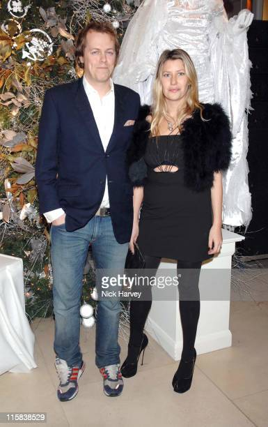 Tom Parker-Bowles and Sara Parker Bowles during The 225th Asprey Party - Inside Arrivals at New Bond Street in London, Great Britain.