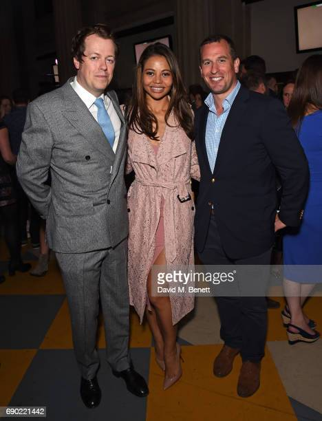 Tom ParkerBowles Lady Weymouth and Peter Phillips attend the launch of the London Evening Standard's inaugural Food Month hosted by Grace Dent and...