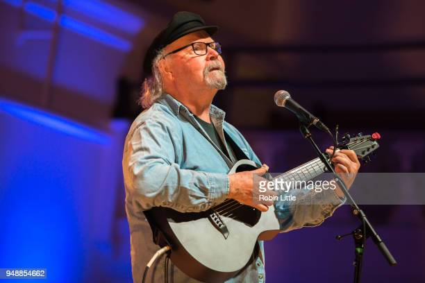 Tom Paxton performs at Cadogan Hall on April 19 2018 in London England