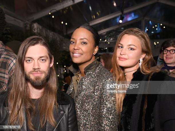 Tom Payne Aisha Tyler and Jennifer Akerman attend Universal Music Group's 2019 After Party Presented by Citi Celebrates Music's Biggest Night on...