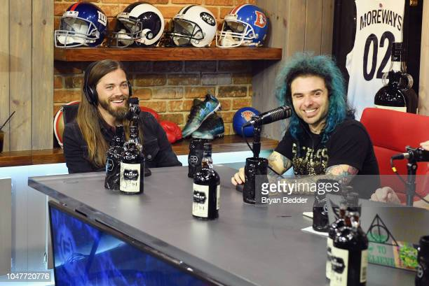 Tom Payne and Danny Oelkers on the New York Comic Con special presented by Kraken Rum at Versa on October 7 2018 in New York City