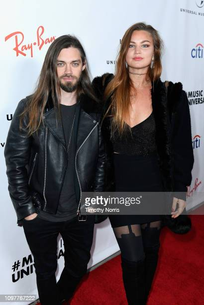 Tom Payne and Jennifer Akerman attend Universal Music Group's 2019 After Party Presented by Citi Celebrates The 61st Annual Grammy Awards on February...