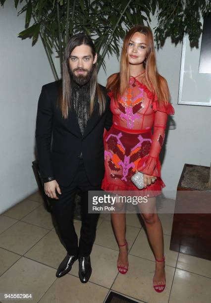 Tom Payne and Jennifer Akerman experiencing the Ketel Market at the 29th Annual GLAAD Media Awards Los Angeles in partnership with LGBTQ ally Ketel...