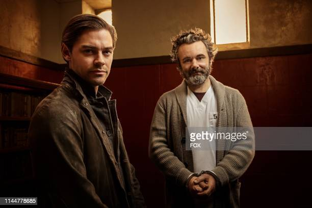 Tom Payne and Michael Sheen in PRODIGAL SON premiering this fall on FOX