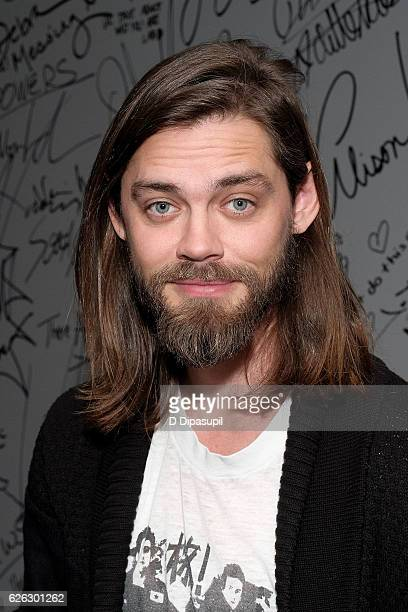 Tom Payne attends the Build Series to discuss The Walking Dead at AOL HQ on November 28 2016 in New York City