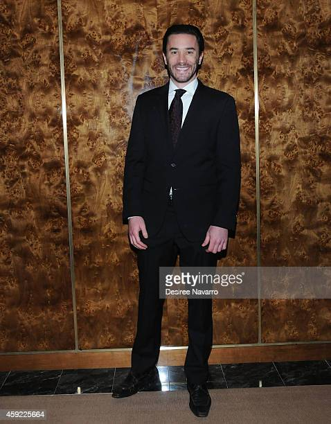 Tom Pelphrey attends 'By The Water' Opening Night at Brasserie 8 1/2 on November 18 2014 in New York City