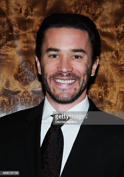 Tom Pelphrey attends By The Water Opening Night at Brasserie 8 1/2 on November 18 2014 in New York City