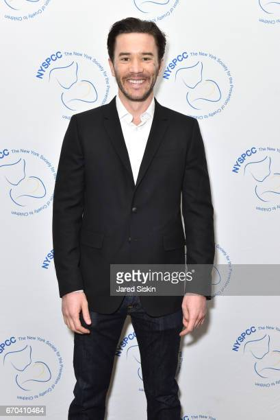 Tom Pelphrey attends New York Society for the Prevention of Cruelty to Children 2017 Spring Luncheon at The Pierre Hotel on April 19 2017 in New York...