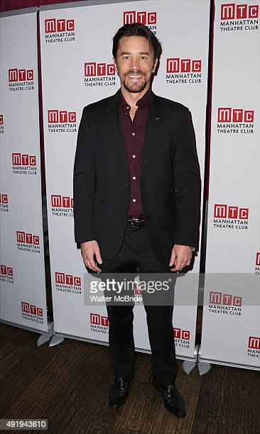 Tom Pelphrey attends the Broadway Opening Night after party for 'Fool For Love' at Urbo on October 8 2015 in New York City