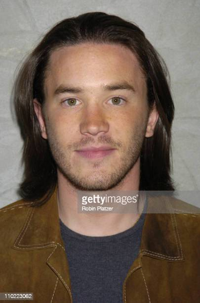 Tom Pelphrey during Party for The Hot Men of CBS Guiding Light and As The World Turns which was filmed for David Tuteras Discovery Channel Show 'The...