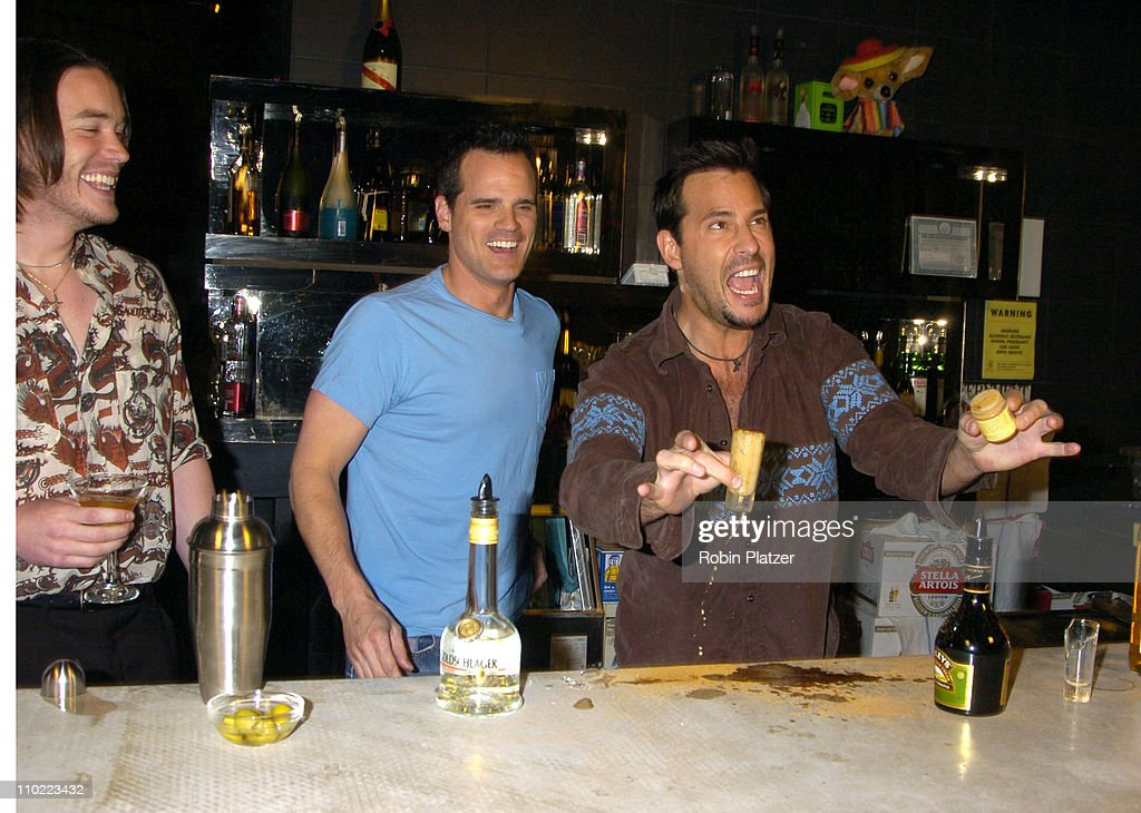 "Party for The Hot Men of CBS Guiding Light and As The World Turns which was filmed for David Tuteras Discovery Channel Show ""The : News Photo"