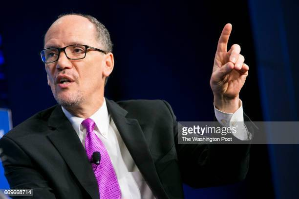 Tom Perez Chairman Democratic National Committee participates in The Daily 202 Live with James Hohmann event