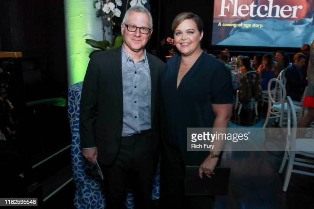 Tom Perrotta and Amy Gravitt attend the after party for the premiere of HBO's Mrs Fletcher at Avalon Hollywood on October 21 2019 in Los Angeles...