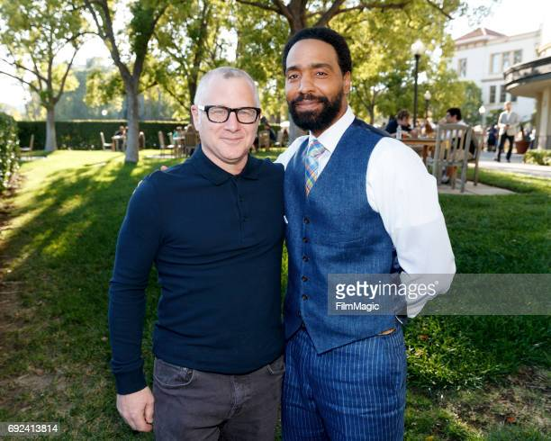 Tom Perrotta Executive Producer CoCreator and actor Kevin Carroll John Murphy arrive at HBO's The Leftovers FYC on June 4 2017 in Los Angeles...