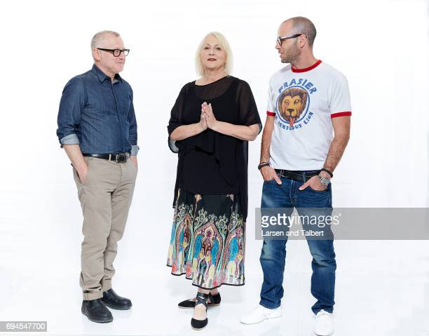 Tom Perrotta Mimi Leder and Damon Lindelof are photographed for Entertainment Weekly Magazine on June 9 2017 in Austin Texas