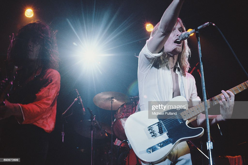 Cheap Trick On Stage : News Photo