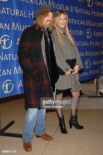 Tom Petty and Dana Petty attend THE AMERICAN MUSEUM OF NATURAL HISTORY Museum Gala at American Museum of Natural History on November 15 2007 in New...