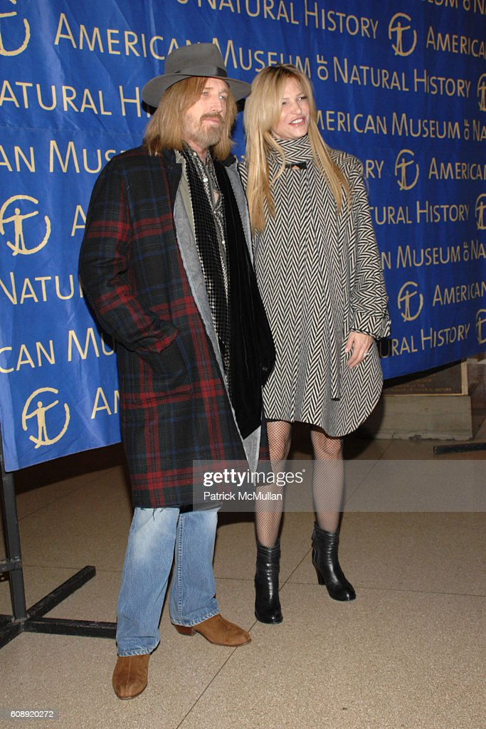 Tom Petty and Dana Petty attend THE AMERICAN MUSEUM OF NATURAL HISTORY Museum Gala at American Museum of Natural History on November 15, 2007 in New York City.