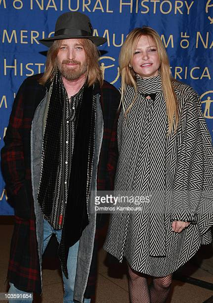Tom Petty and Dana York arrive at the 2007 Museum Gala at the American Museum of Natural History on November 15 2007 in New York City
