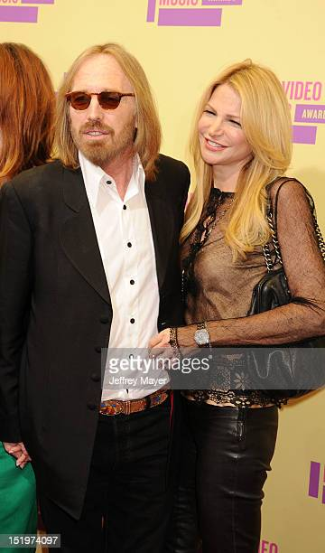 Tom Petty and Dana York arrive at the 2012 MTV Video Music Awards at Staples Center on September 6 2012 in Los Angeles California