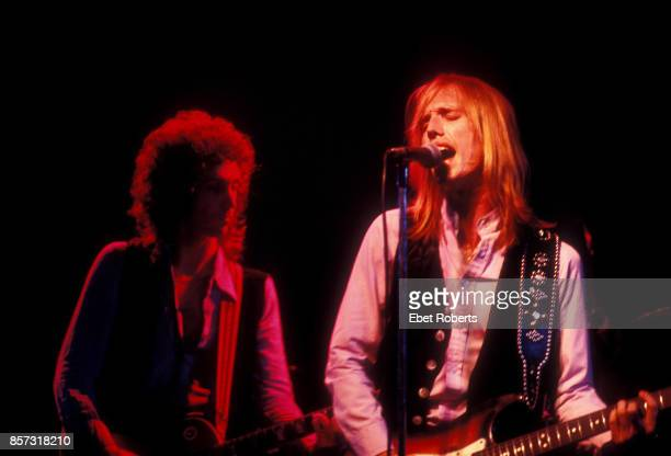 Tom Petty and Mike Campbell at the Bottom Line in New York City on November 19 1977