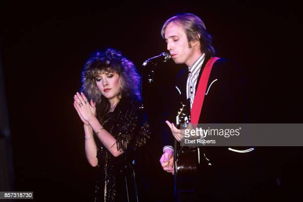 Tom Petty and Stevie Nicks performing at Radio City Music Hall in New York City on September 13 1983