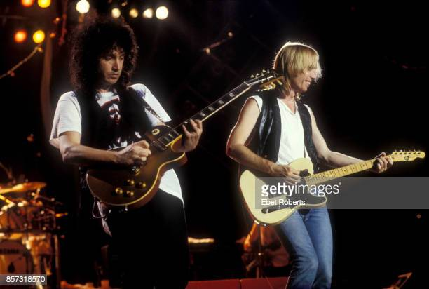 Tom Petty and The Heartbreakers at Jones Beach New York on July 10 1987