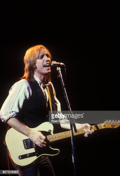 Tom Petty and The Heartbreakers at the Brendan Byrne Arena in East Rutherford New Jersey on July 21 1986