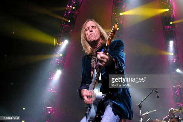 Tom Petty And The Heartbreakers during Tom Petty and The HeartBreakers Perform at Madison Square Garden at Madison Square Garden in New York New York...
