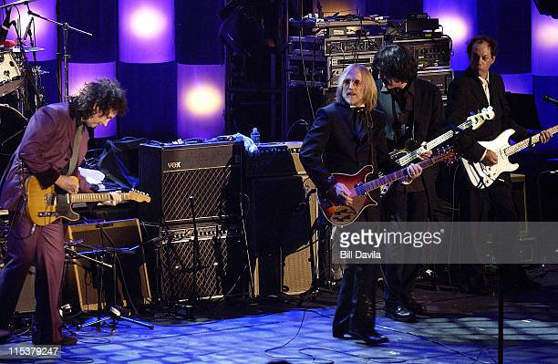 Tom Petty and the Heartbreakers inductees during 17th Annual Rock and Roll Hall of Fame Induction Ceremony at Waldorf Astoria in New York City New...