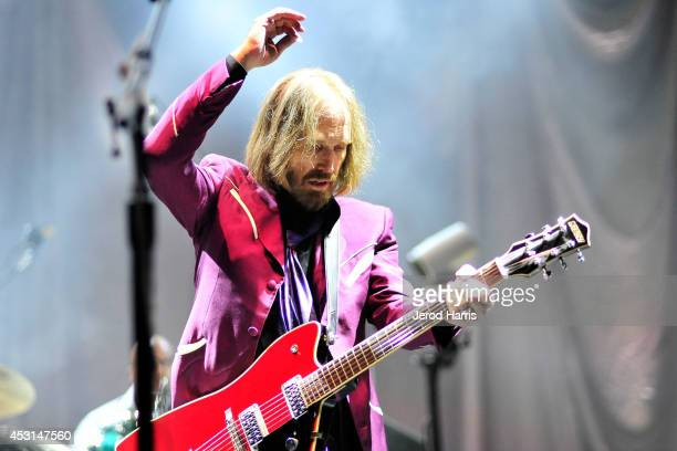 Tom Petty and The Heartbreakers kick off their summer 2014 tour in support of their latest album 'Hypnotic Eye' at Viejas Arena on August 3 2014 in...