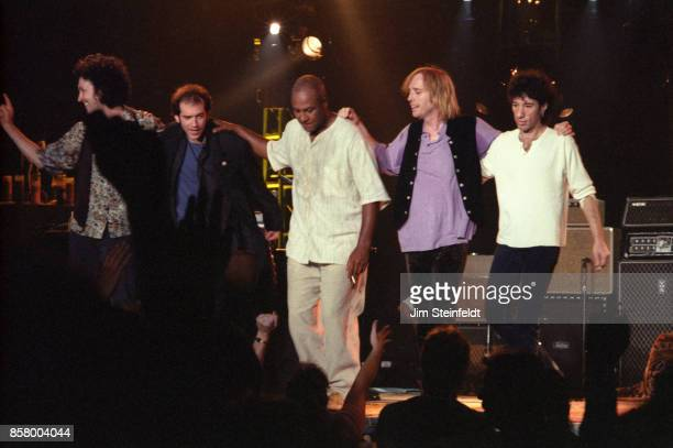 Tom Petty and the Heartbreakers perform at the Target Center in Minneapolis Minnesota on September 10 1995