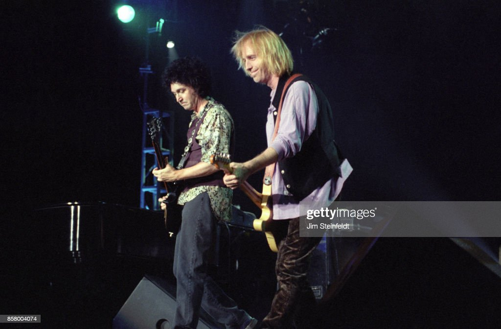 Tom Petty and the Heartbreakers perform at the Target Center in Minneapolis, Minnesota on September 10, 1995.