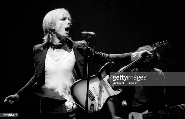 Tom Petty and the Heartbreakers perform live at The Palladium in New York on November 11 1979
