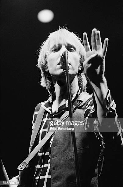 Tom Petty and The Heartbreakers perform on stage in Utrecht Netherlands 5th December 1982